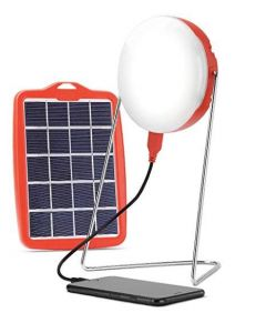 Smart Phone Charging + Solar & Electrical Charging Light 5,10 & 20 hr. Back up
