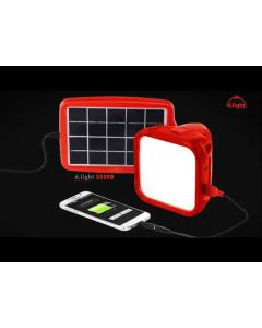Smart Phone Charging +Solar & Electrical Charging Light 5,8 & 12 hr. Back up