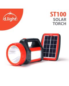 Emergency Light +Solar Torch with Electrical Charging 8, 3 & 3 hr. Back up